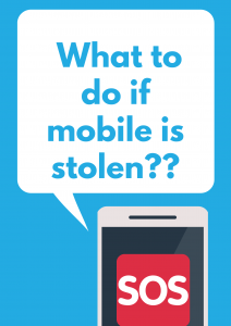What to do if mobile is stolen??