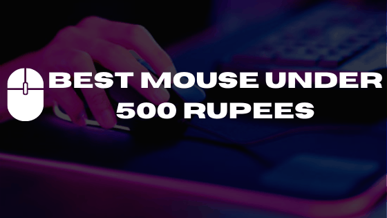 best mouse under 500 rupees
